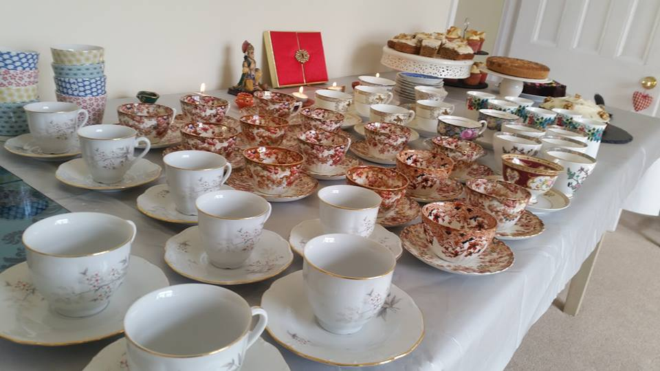 chairty tea party mugs