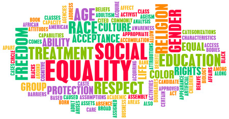 23733589 - social equality respect for every race and gender
