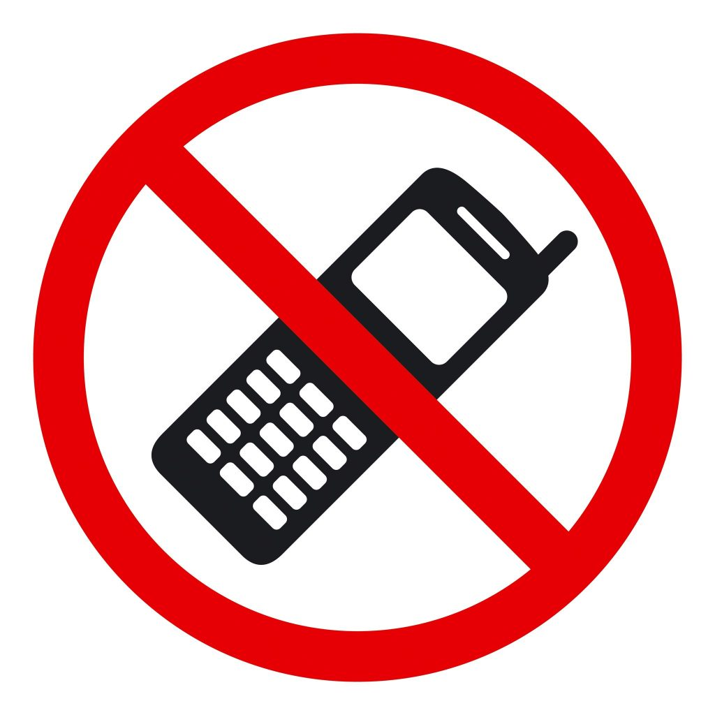 16795077 - no phone sign, illustration