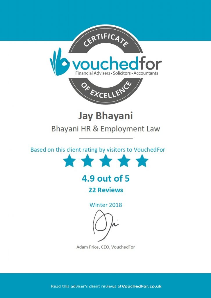 Winter 2018 national rating in Vouchedfor