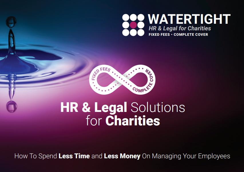 Watertight Charity flyer