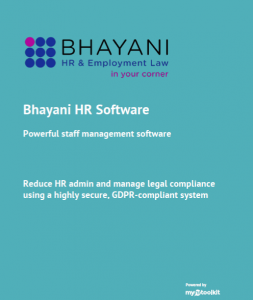 Flyer of Bhayani HR Software