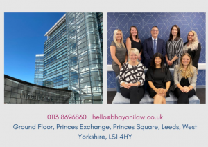 Bhayani Law Team and new Leeds office