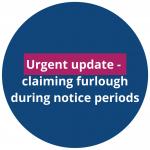 Claiming furlough during notice periods