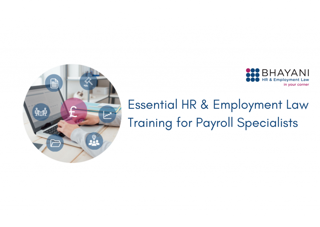 Essential HR & Employment Law Training for Payroll Specialists