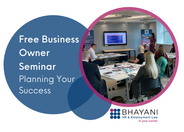 Free Business Owner Seminar Planning Your Success